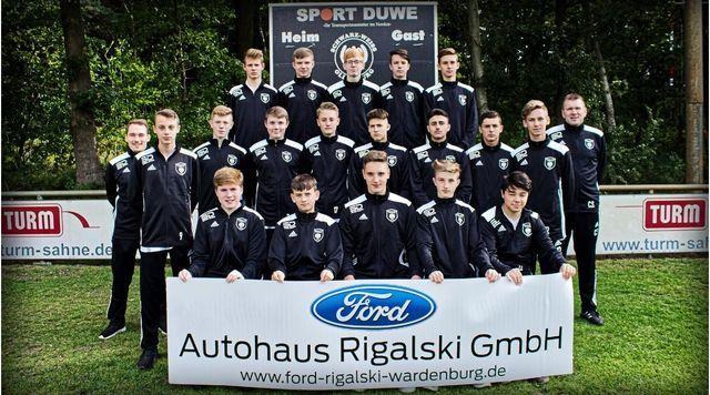 1 B Junioren Abteilung Fussball Der Sg Schwarz Weiss